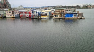 The quirky houseboat village.
