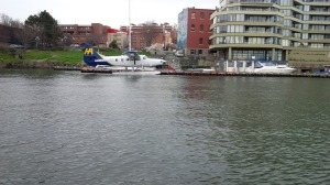 There's regular floatplane service between Victoria and Vancouver.