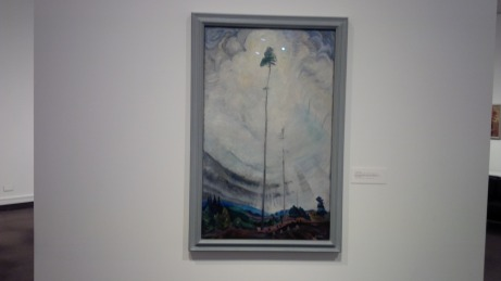 A retospective of Canadian artists would not be complete without Emily Carr.